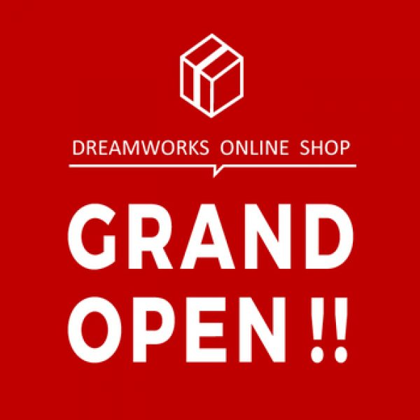 OFFICIAL ONLINE SHOP GRAND OPEN!!サムネイル